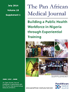 Building a public health workforce in Nigeria through experiential training