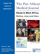 Ebola in West Africa. Before, now and then