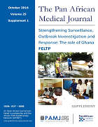 Strengthening Surveillance, Outbreak Investigation and Response: the Role of Ghana FELTP