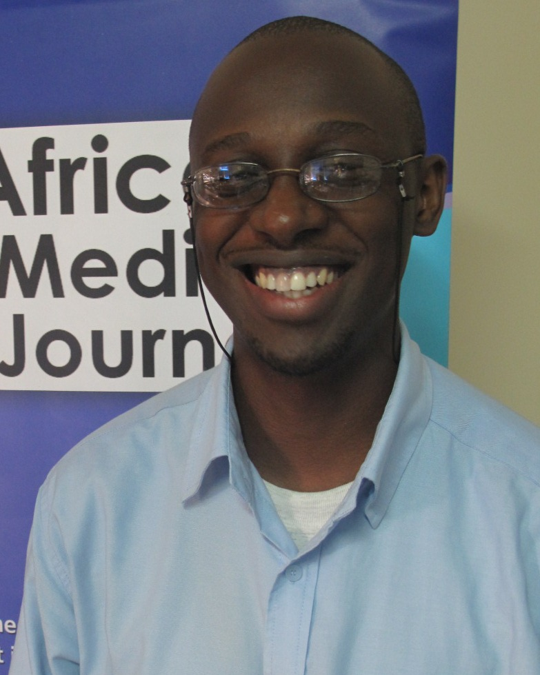 Allan Mwesiga from the Pan African Medical Journal